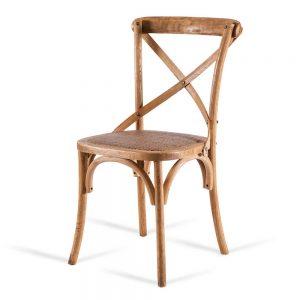 כסא אוכל איקס עץ טבעי