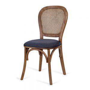 כסא אוכל ניקולאס אפור כהה