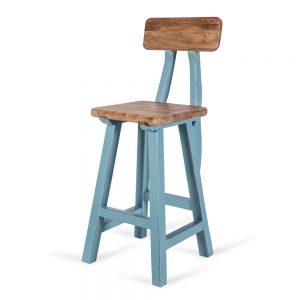 כסא בר רובין תכלת