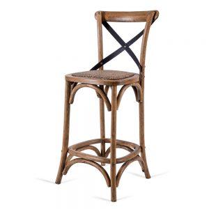 כסא בר איקס ברזל