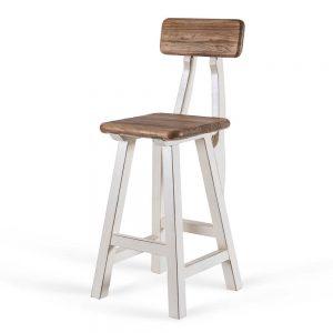 כסא בר רובין לבן