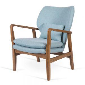 כורסא מעוצבת קאילה תכלת