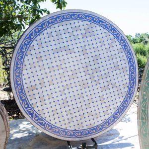 שולחן פסיפס מרוקאי קוטר 160