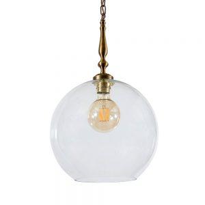 מנורת תלייה כדור זכוכית 7070