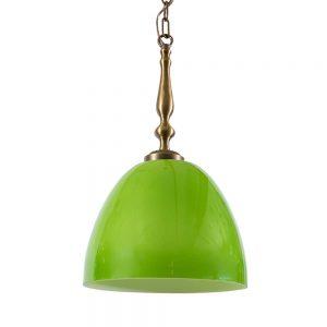 מנורת תלייה ירוקה 7072