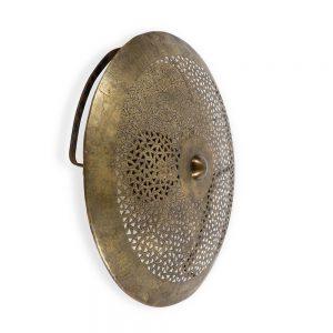 מנורה צמודת קיר פליז 7506