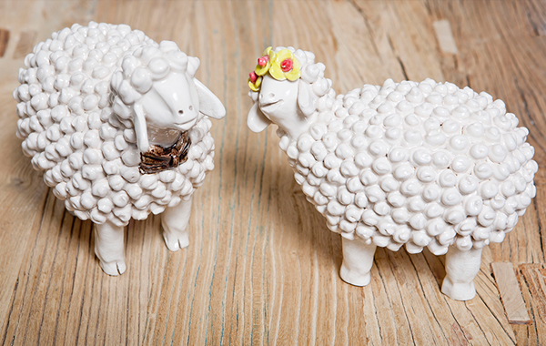 כבשים מקרמיקה