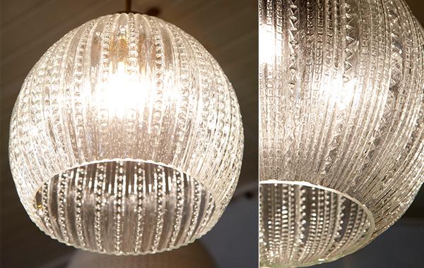 מנורת תליה כדור גלובוס קטן