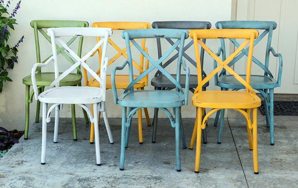 כסאות אלומיניום סדרת Colorful