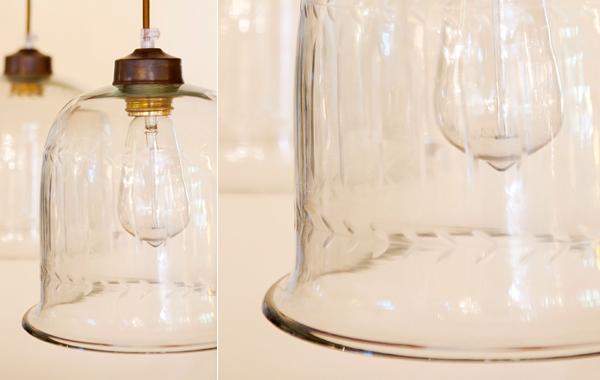 מנורת תלייה פעמון עלים
