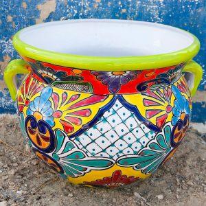 כדי קרמיקה צבעוניים ממקסיקו