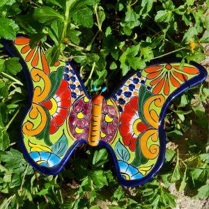 פרפר צבעוני מקרמיקה