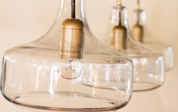 מנורת תלייה שלישייה דגם טיפה