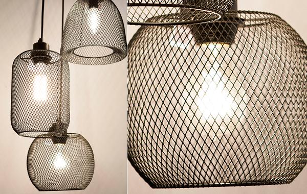 מנורת תלייה רשת