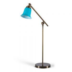 מנורת שולחן מנוף זהב