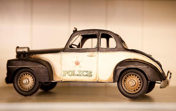 רכב משטרה של פעם