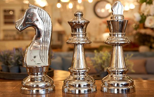 כלי שחמט מניקל