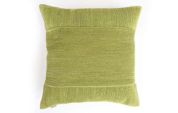 כרית נוי ירוקה