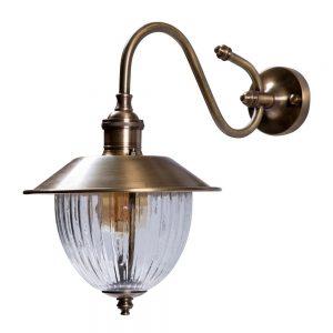 מנורת קיר חוץ מפליז 6908
