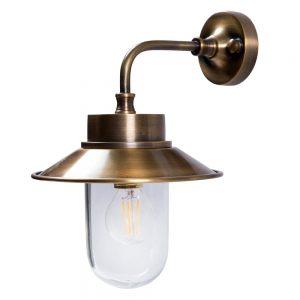 מנורת קיר מפליז לגינה 6915