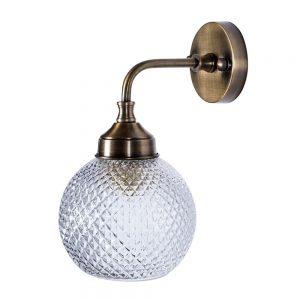 מנורת קיר פליז 6168