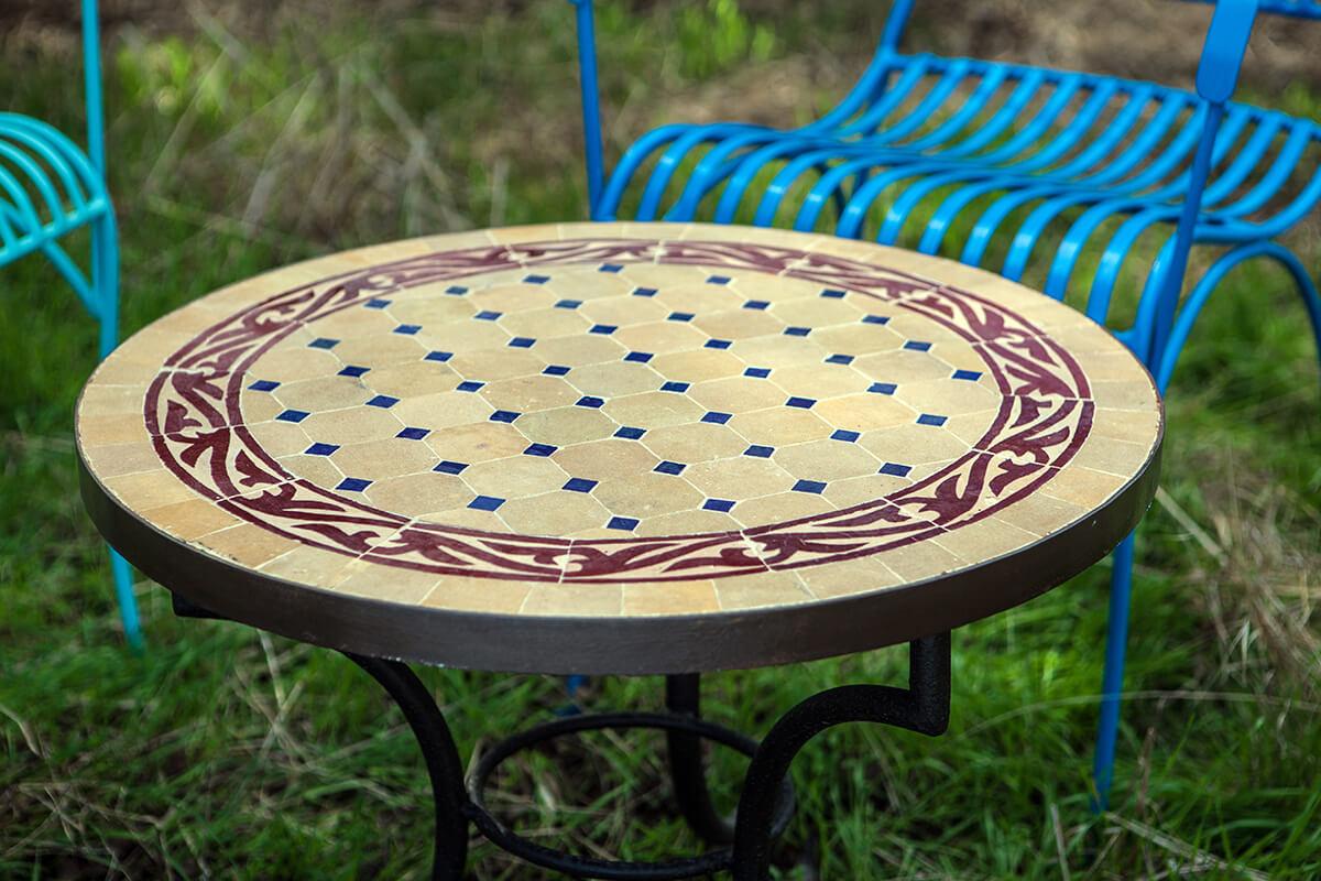 שולחן פסיפס דגם אדמה