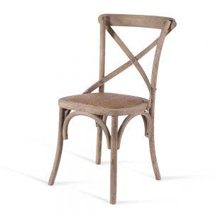 כסא אוכל איקס עץ בהיר