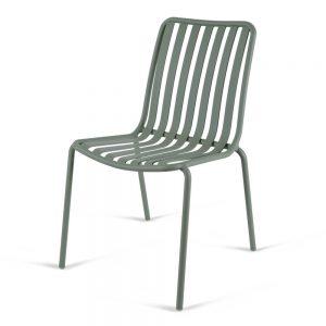 כסא אלומיניום River ירוק זית