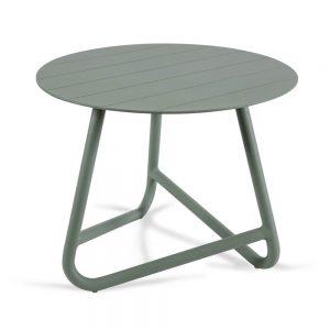 שולחן אלומיניום קטן COFFEE ירוק זית