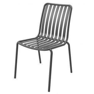 כסא אלומיניום River שחור