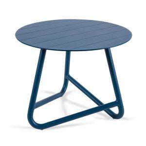 שולחן אלומיניום קטן COFFEE כחול