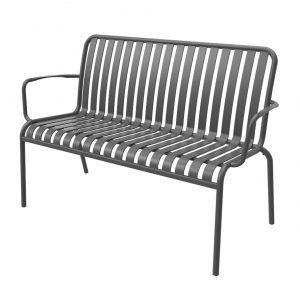 ספסל אלומיניום SUNNY שחור