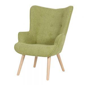 כורסא מעוצבת ניקי ירוקה