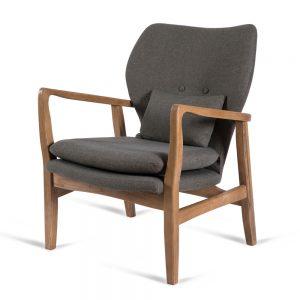 כורסא מעוצבת קאילה ירוק כהה