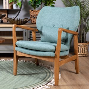 כורסא מעוצבת קאילה טורקיז